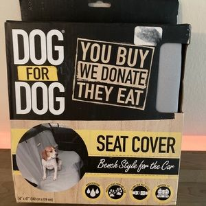 Dog carseat cover car NWT